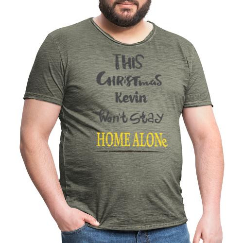 Kevin McCallister Home Alone - Koszulka męska vintage
