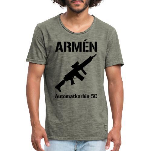 ARMÈN - Ak 5C - Vintage-T-shirt herr