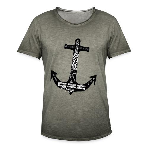Anker Full - Männer Vintage T-Shirt