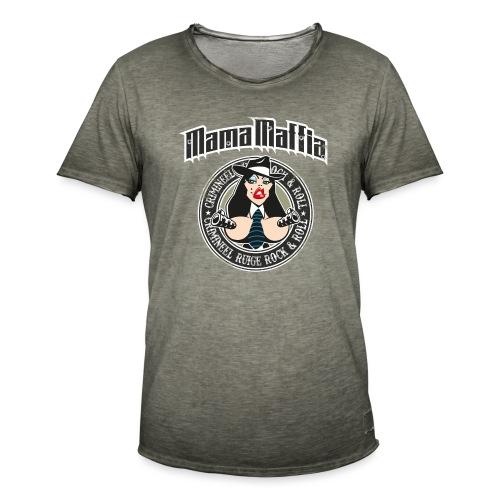 Mama Maffia - Mannen Vintage T-shirt