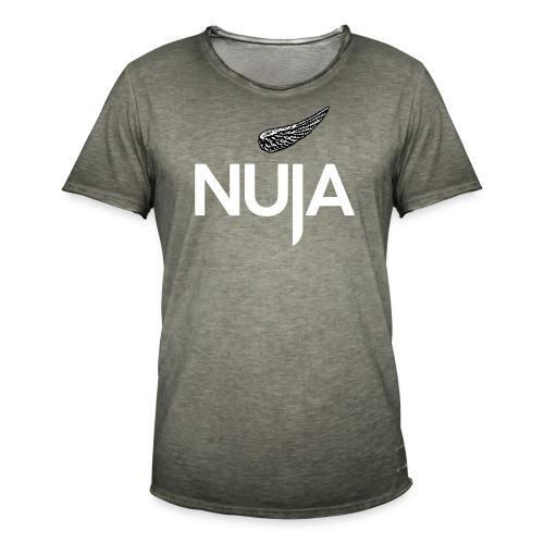 NUJA Premium Merch - Vintage-T-skjorte for menn