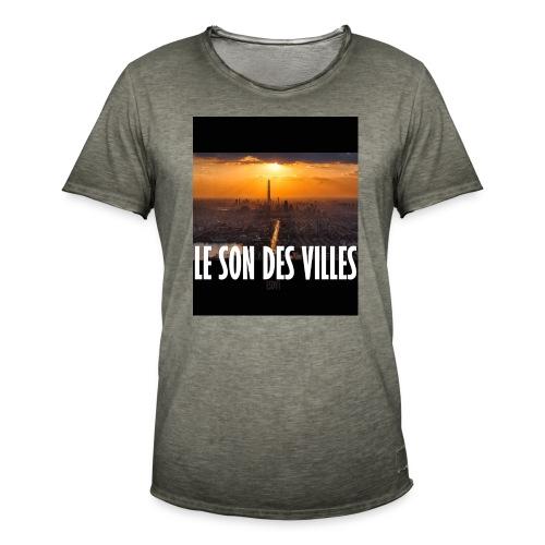 Le Son Des Villes : By night - T-shirt vintage Homme