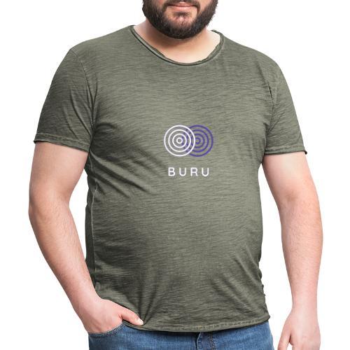 BURU - Camiseta vintage hombre