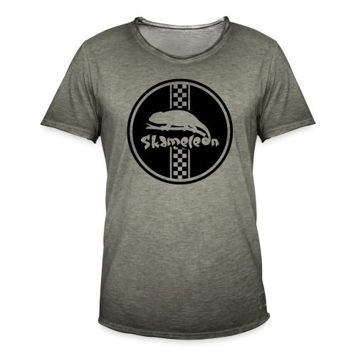 skameleon Logo - Männer Vintage T-Shirt