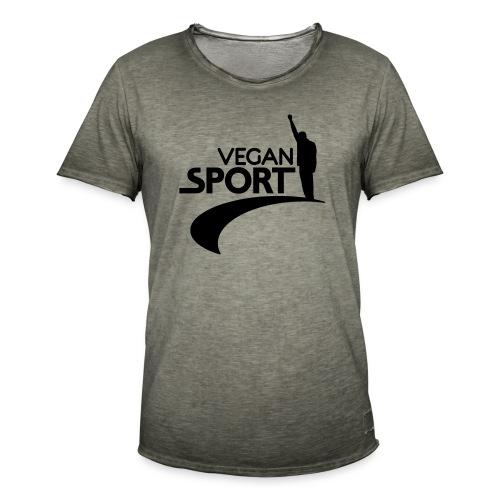 vegansport01_225x225 - Männer Vintage T-Shirt