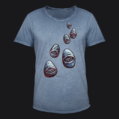 potatoes attack - T-shirt vintage Homme