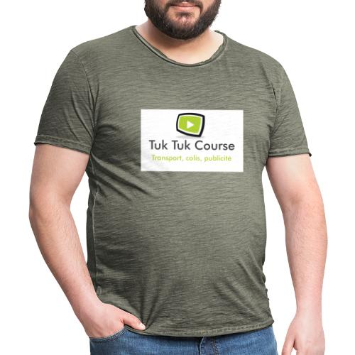 Logo tuk tuk course - T-shirt vintage Homme