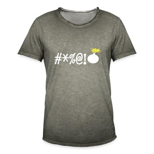 boos - Mannen Vintage T-shirt
