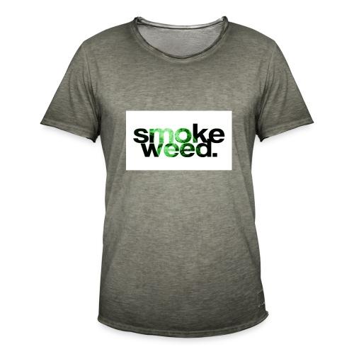 smoke weed - Männer Vintage T-Shirt
