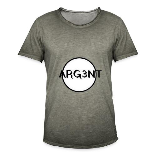 ARG3NT - T-shirt vintage Homme