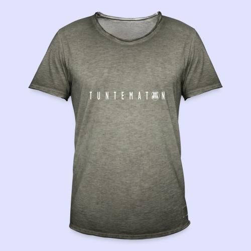 tuntematon - Miesten vintage t-paita