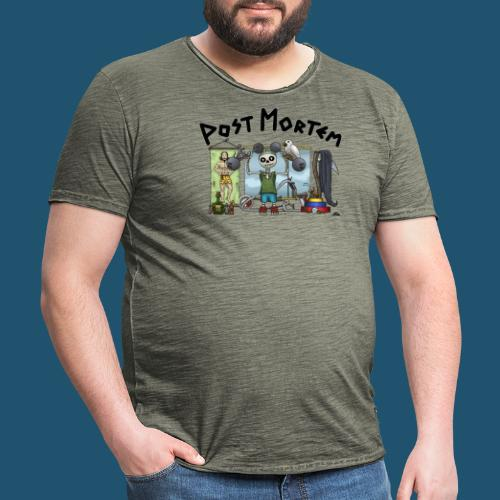 Post Mortem - Getting Ripped - Vintage-T-shirt herr