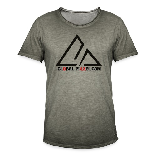 globalpixxel.com - Männer Vintage T-Shirt