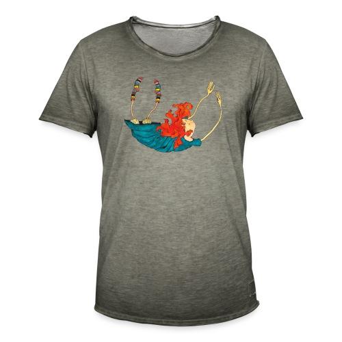 Frit fald - Herre vintage T-shirt