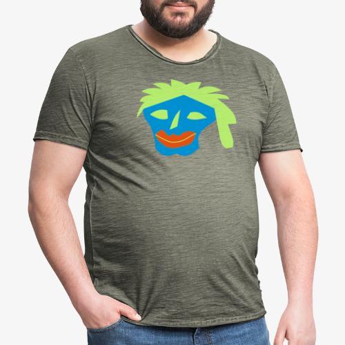 test - Männer Vintage T-Shirt