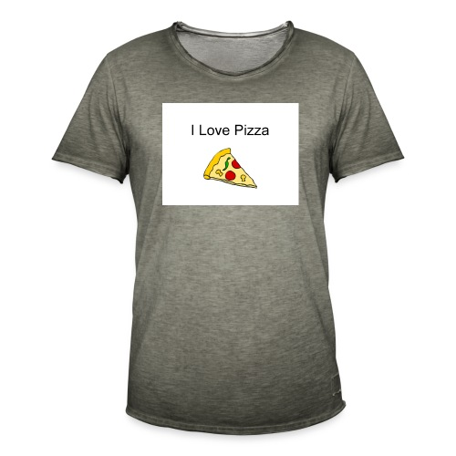 pizza - Männer Vintage T-Shirt