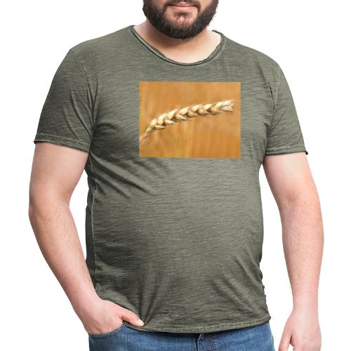 wheat - Männer Vintage T-Shirt