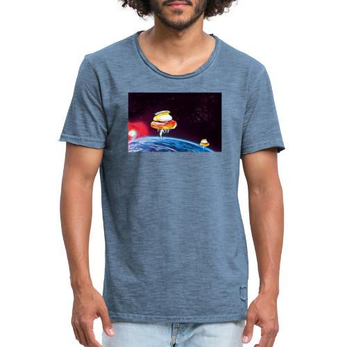 Semla - Vintage-T-shirt herr