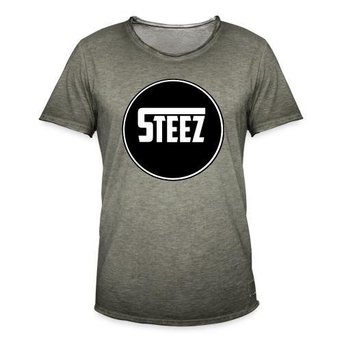 Steez t-Shirt black - Mannen Vintage T-shirt