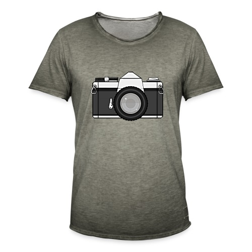 Shot Your Photo - Maglietta vintage da uomo