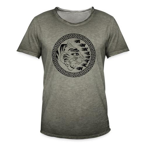 Anklitch - Mannen Vintage T-shirt