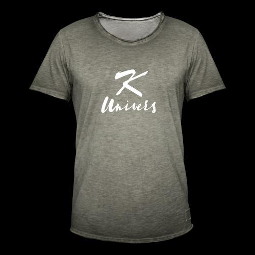 K-Univers - T-shirt vintage Homme