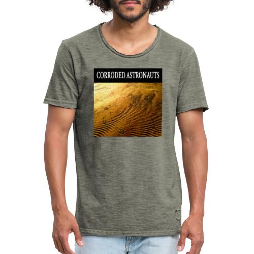 Corroded Astronauts Album Cover - Vintage-T-shirt herr