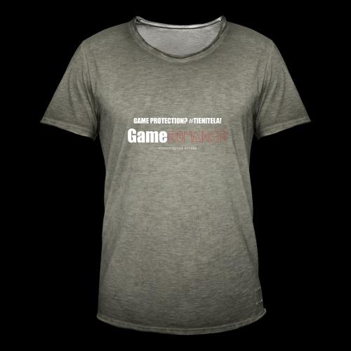 gameromancer maglietta gs - Maglietta vintage da uomo