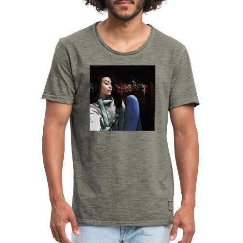 420 Girl - Maglietta vintage da uomo