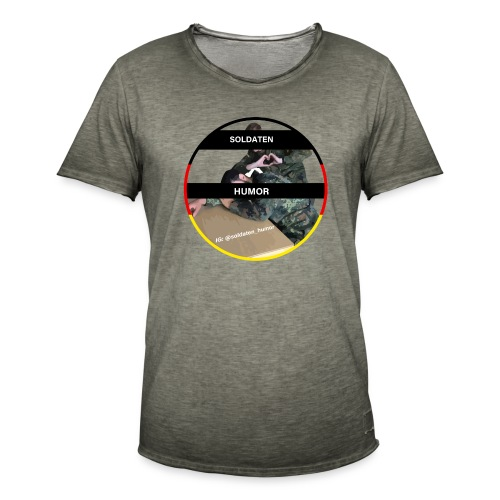 Soldaten Humor - Männer Vintage T-Shirt