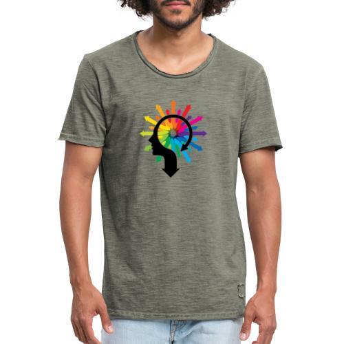 Bienestar - Camiseta vintage hombre
