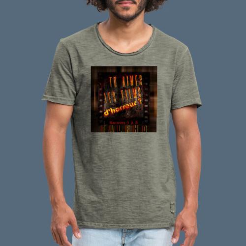 Talfho Logo Vintage Saison 3 - T-shirt vintage Homme