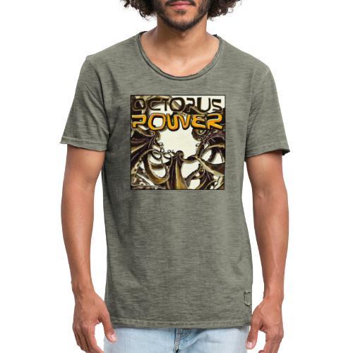 Octopus djf - Camiseta vintage hombre