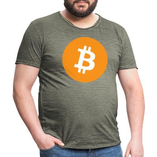 Bitcoin Merch - Herre vintage T-shirt