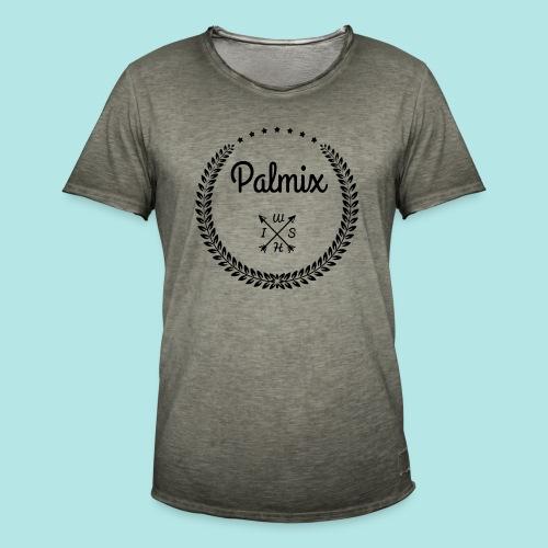 Palmix_wish camiseta mangas color - Men's Vintage T-Shirt
