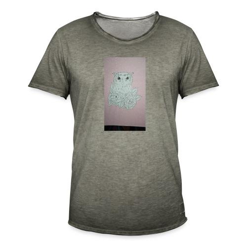 bird - Camiseta vintage hombre