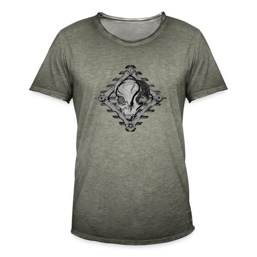 Visitor from alien planet - Men's Vintage T-Shirt