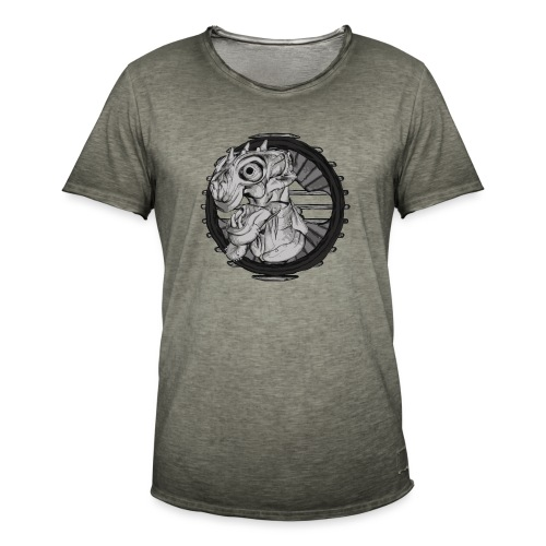 Alien hunter - Men's Vintage T-Shirt