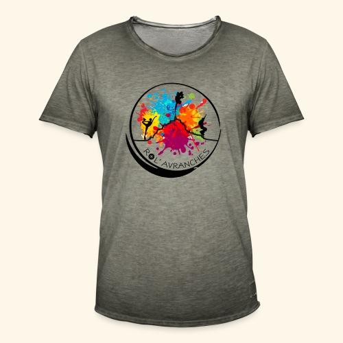 Logo Transparent Av+Ar - T-shirt vintage Homme