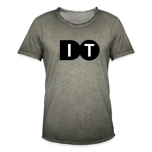 Do it - Mannen Vintage T-shirt