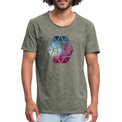diseño de figuras - Camiseta vintage hombre
