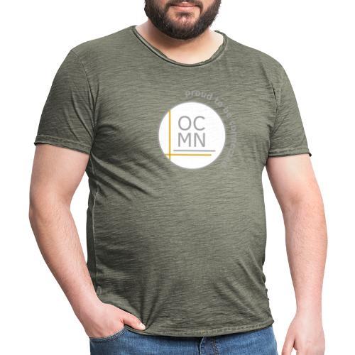 OCMN proud te be connected - Mannen Vintage T-shirt