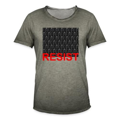 Resist 21.1 - Männer Vintage T-Shirt