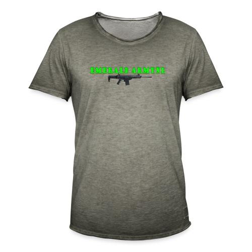 EMERALDARMYNL LETTERS! - Mannen Vintage T-shirt