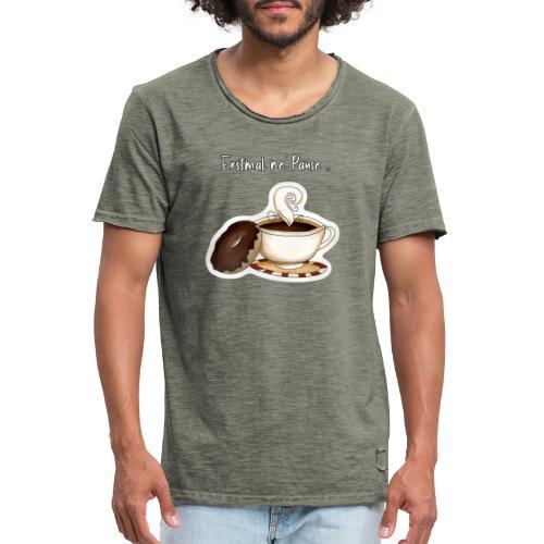 Erstmal ne Pause - Männer Vintage T-Shirt