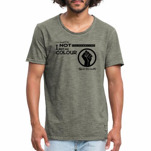 BLM collection - Männer Vintage T-Shirt