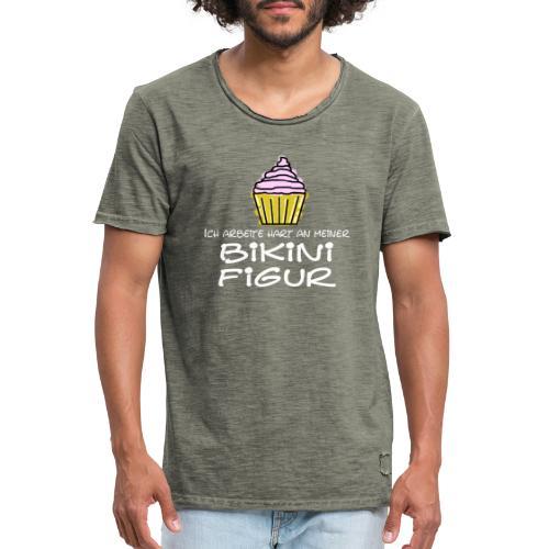 Bikinifigur - Männer Vintage T-Shirt