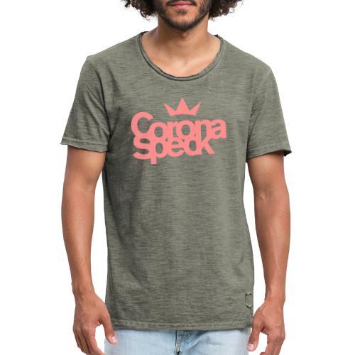 Corona Speck - Männer Vintage T-Shirt