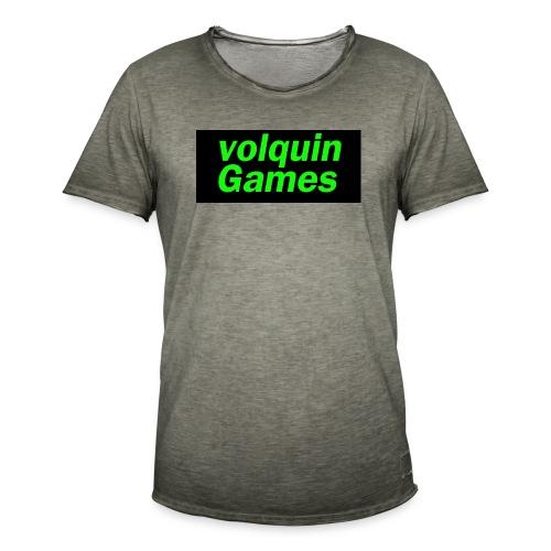 volquin - Mannen Vintage T-shirt