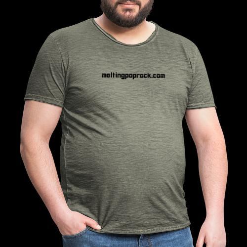 Adresse du site de Melting Pop Rock - T-shirt vintage Homme